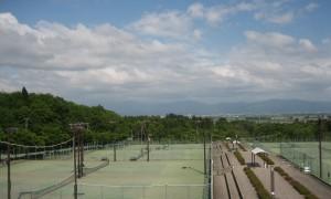 総合公園テニスコート