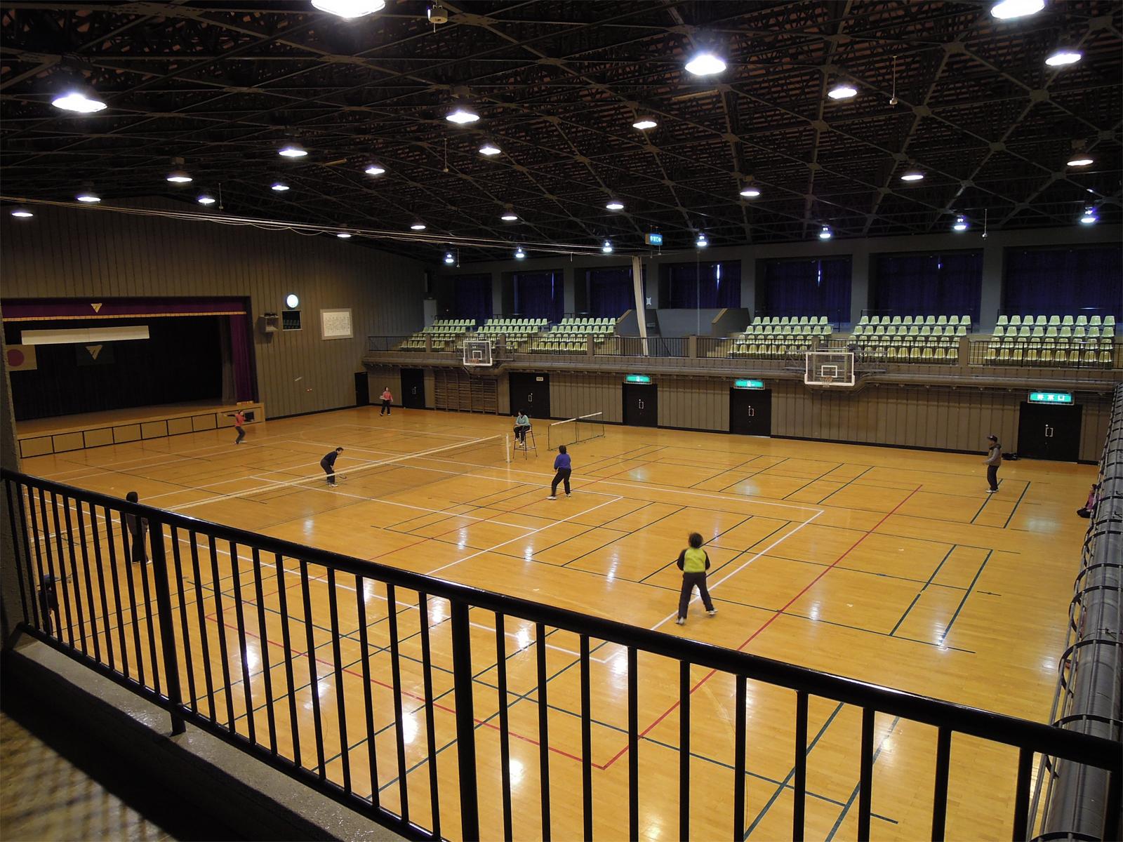 大潟村村民体育館|秋田県スポーツ情報ステーション